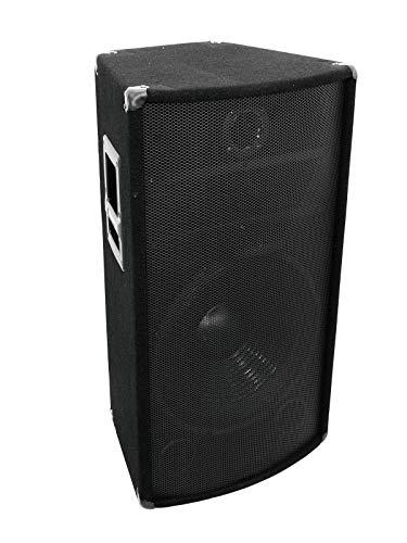 Omnitronic TX-1520 3-Wege-Box 900W   Full-Range-Box für Disco- oder Live-Musik mit 15