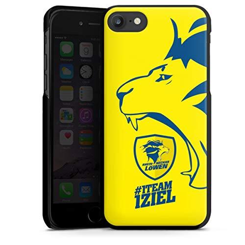 DeinDesign Hard Case kompatibel mit Apple iPhone 7 Schutzhülle schwarz Smartphone Backcover Rhein-Neckar-Löwen Offizielles Lizenzprodukt Handball