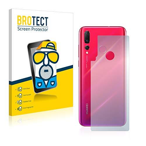 BROTECT 2X Entspiegelungs-Schutzfolie kompatibel mit Huawei Nova 4 (Rückseite) Bildschirmschutz-Folie Matt, Anti-Reflex, Anti-Fingerprint