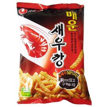 10袋セット【韓国お菓子】辛いえびせん90gX10袋(辛口セウカン)