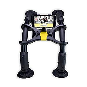 AbXcore for Abs Workout – Ab Machine Exercise Equipment for Home Gym. Resistance Abdominal Muscle Toner, Adjustable Ab Trainer & Portable Ab Workout Equipment. Core Workout Abs Machine with Bag + App