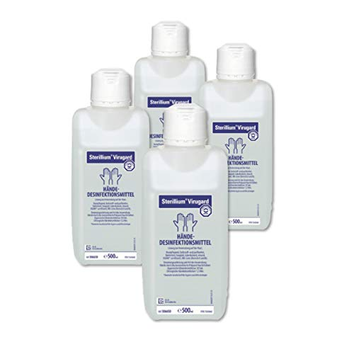 Sterillium Virugard Händedesinfektion | 4 x 500 ml Flasche