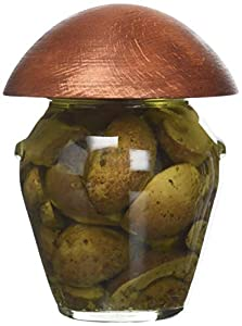 Champignons portobello fumés à l'huile d'olive grecque 260g