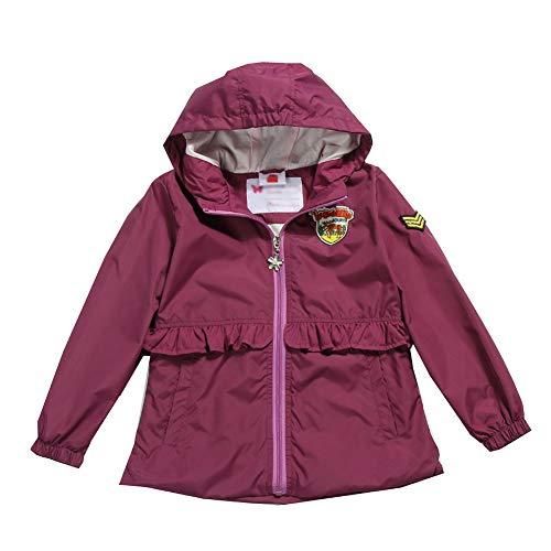 G-Kids waterdichte jas voor meisjes, regenjas, overgangsjas, herfst, lente, ademend, winddicht, outdoorjas