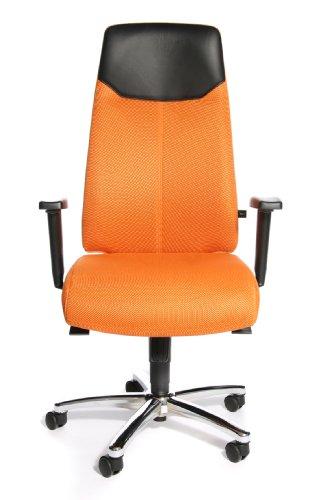 Topstar Chefsessel HIGH SIT UP orange