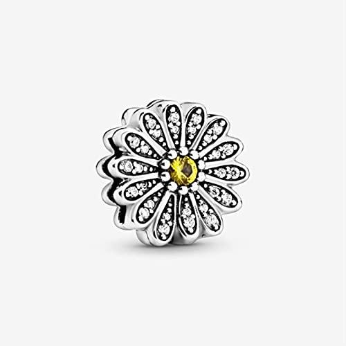 SONGK Autentico Argento Sterling 925 Senza Tempo scintillante Clip Charms Originale braccialetto Pandora Regalo per gioielli FAI da te perline
