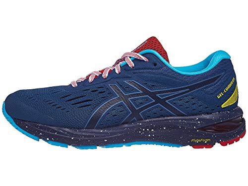 ASICS - Mens Gel-Cumulus 20 Marathon Pack Shoes, 8.5 UK, Gran Shark/Peacoat