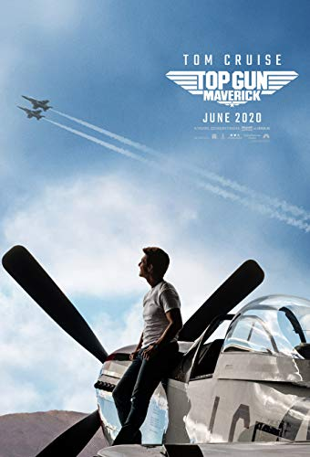 TOP GUN MAVERICK MOVIE POSTER 2 Sided ORIGINAL Version B 27x40 TOM CRUISE JENNIFER CONNELLY