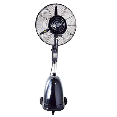 GHJA Potente Ventilador, Pulverizador De Enfriamiento De Elevación Multifuncional, 3 Velocidades De Alta Potencia, 10 Horas, Capacidad De 42 litros, Ventilador De Pulverización Negro