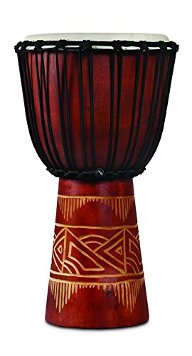 LP (ラテンパーカッション)/LP713MR World Beat Woodart Djembe - Medium Red ジャンベ