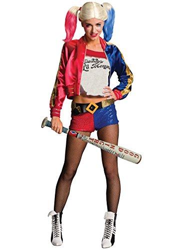 Rubie's 332943 - Harley Quinn Sucide Squad aufblasbarer Baseballschläger