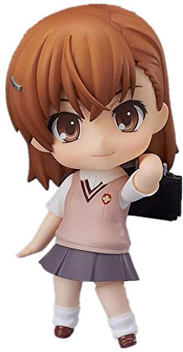 BGQ Toaru Majutsu No Index Figure Misaka Mikoto Figure Anime Chibi Figure 4inchs 10cm Figura de acción