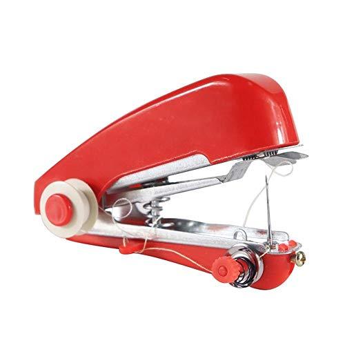 Naaimachines Compact naaimachine Mini handmatig naaien Portable Creative eenvoudig te bedienen Duurzame Praktische Needlework Tool ZHQHYQHHX (Color : Red)