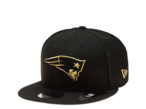 New Era Gorra de los New England Patriots – dorado y negro...