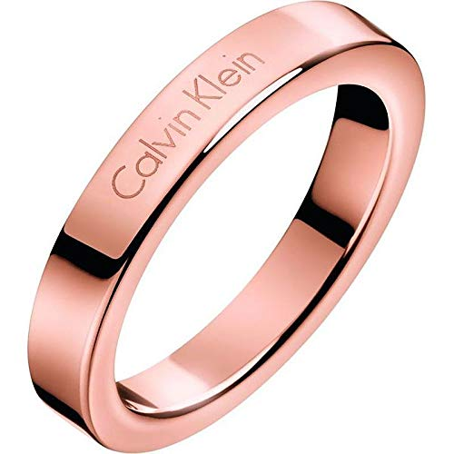 Calvin Klein - Anillo para mujer joyas Hook talla 12 Trendy cód. KJ06PR100106