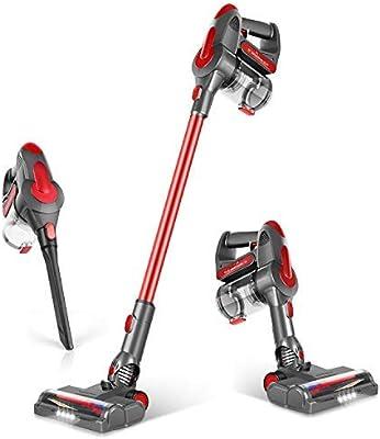 GeeMo Cordless Vacuum Cleaner 21Kpa Super-Suction 35 mins-Running 1.2L Super-Capacity 4 in 1 Vacuum Cleaner for Deep Clean Pet Hair Carpet Hard Floor G201