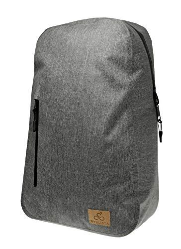BYKLISTA® Fahrradrucksack Fahrradtasche Gepäckträger + Gratis eBook – Fahrradtasche Rucksack Kombi - Fahrradtaschen für Gepäckträger wasserdicht - Fahrrad Gepäckträgertasche