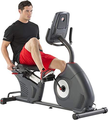 Schwinn Liegefahrrad / Recumbent 570R - Schwungrad 3,5 kg - RideSocial kompatibel - Schwinn Connect - Dual Track Display - Komfortabler Sitz und stützende Sitzeinheit