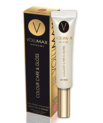 VOLUMAX Supreme Colour Care & Gloss | Color, Brillo, Volumen y Cuidado | Labial Voluminizador Con hilurlip® space filler | Color Rose Saphire. - 15 ml.