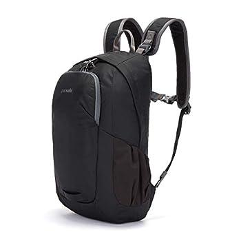 Pacsafe Venturesafe G3 Sac à Dos 15 l avec Technologie Anti-vol en Nylon 100D Diamond Ripstop Noir/Noir