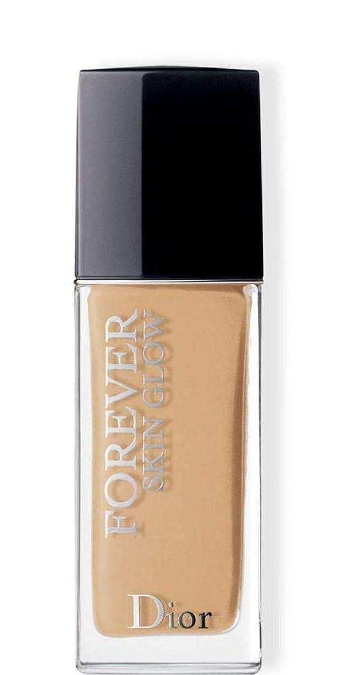 付録請求努力するクリスチャンディオール Dior Forever Skin Glow 24H Wear High Perfection Foundation SPF 35 - # 3WO (Warm Olive) 30ml/1oz並行輸入品