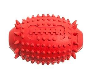 Tyker–Jouet distributeur de friandises pour chien ballon de football américain en caoutchouc