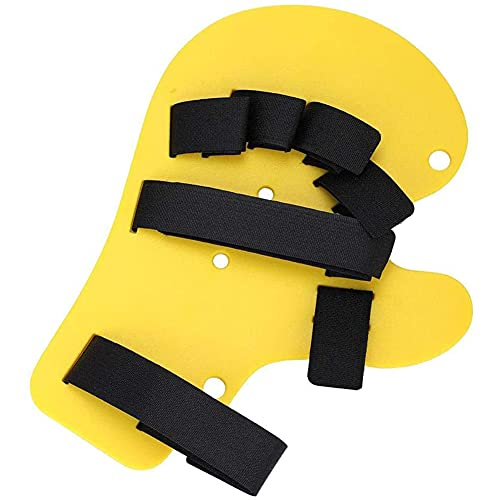 XXGJK Férula de Mano de Trazo de diapasón ortopédico para Dedos, Soporte de Entrenamiento, Placa separada para Dedos, férula Universal para Manos Izquierda y Derecha