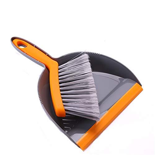 YLiansong-home Juego de Recogedor y Cepillo 2 unids pequeña Escoba y Polvo Conjunto Mini Escoba pequeña Polvo de Polvo de Escritorio Limpieza Escoba de plástico Basura Pala para Casa