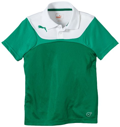 PUMA Kinder Polo Shirt Leisure, Power Green/White, 152, 653970 05