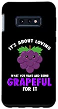 Looking for a thanksgiving outfit This cute grapeful design about gratitude and thankfulness is perfect as an expression of appreciation and affirmation in life. Cute design for grapes lovers and fruit food pun lovers. Two-part protective case made f...
