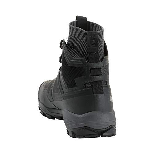 Mammut DUCAN Knit High GTX Wanderstiefel, Bergsteigen und Trekking, Herren, Mehrfarbig (Black/Titanium), 48 2/3