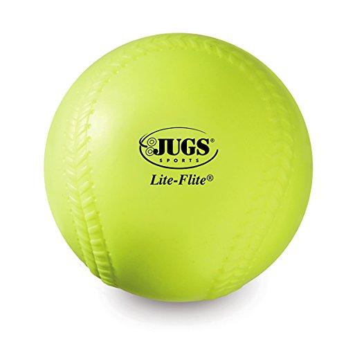 Jugs Lite-Flite 12-Inch Softballs (One Dozen)