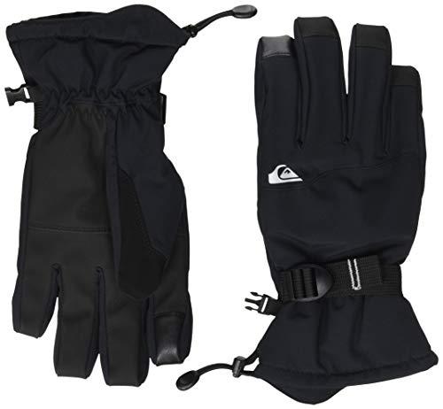 Quiksilver Herren Mission Ski/snowboardhandschuhe, Black, S