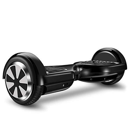 IOCHIC Scooter Elettrico con Bluetooth, Bambini Unisex, Taglia Unica, Nero