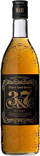 〔ウイスキー〕40度 マルスウイスキー 3&7 720ml 3本 (国産)(ブレンデッドウイスキー)(40%)本坊酒造株式会社