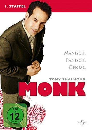 Monk - 1. Staffel [4 DVDs]