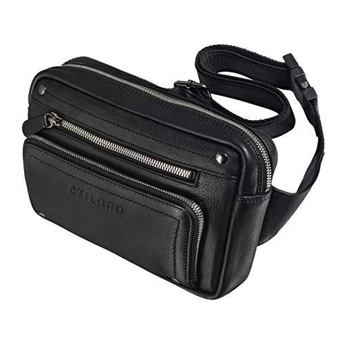 STILORD 'Lou' Leather Belt Pouch Hip Bag Vintage Bum Bag for Men Women Bumbag for Jogging...