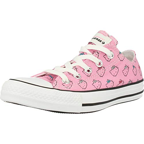 Converse Chuck Taylor All Star Hello Kitty Ox Rosa/Weiß (Prism Pink/White) Textil 37 EU