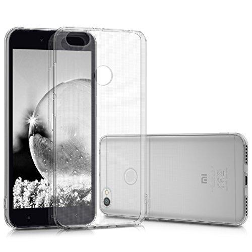 kwmobile Hülle kompatibel mit Xiaomi Redmi Note 5A (4G) - Hülle Handy - Handyhülle in Transparent
