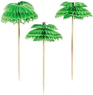 Partyrama Palm Tree 401200 - Palos para cócteles