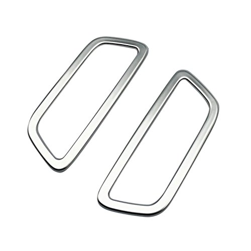 Cubierta para altavoz de techo delantero de acero inoxidable para XC60 2018 2019, 2 unidades