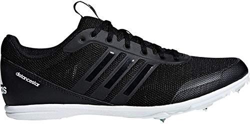adidas Damen Distancestar w Leichtathletikschuhe, Mehrfarbig (Core Black/Core Black/FTWR White F36062), 41 1/3 EU