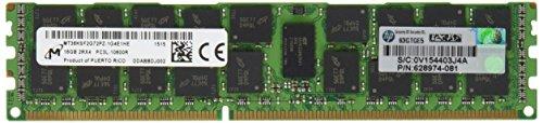 HP Compaq HPQ 16GB 2RX4 PC3L-10600-9 MEM KIT 16 DDR3 1333 Internal Memory 627812-B21