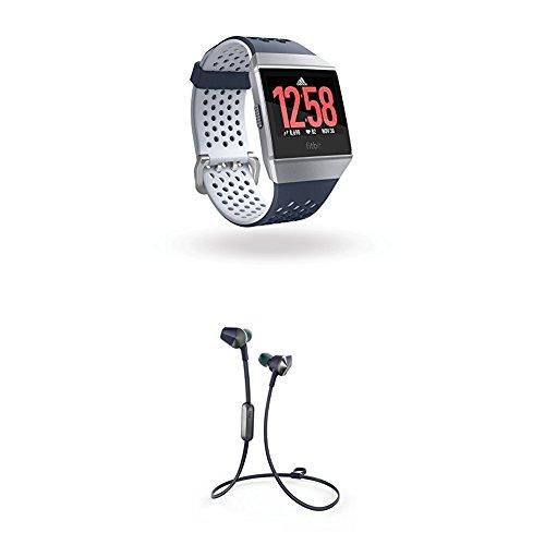 Fitbit Ionic Health & Fitness Smartwatch, grau,L