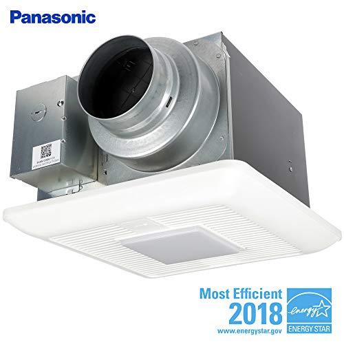Panasonic FV-0511VKSL2 WhisperGreen Multi-Flow Bathroom Fan, White