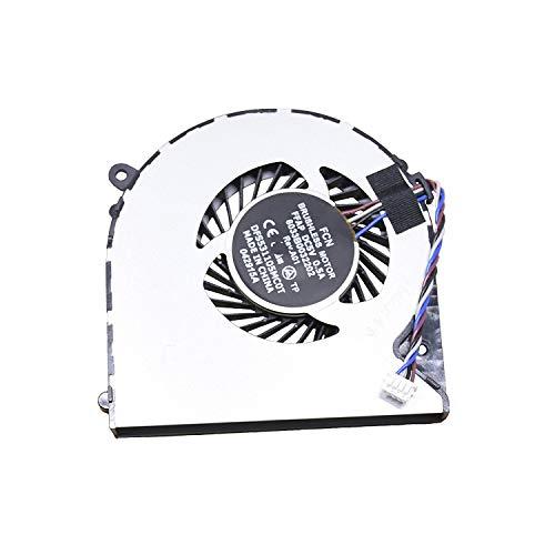 Ellenbogenorthese-LQ Ventilador de CPU Nuevo reemplazo del Ventilador de refrigeración de la CPU del Ordenador portátil para Toshiba Satellite C75D-B7297 C75D-B7320 C75D-B7350 Accesorios.