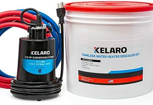 Kelaro Tankless Water Heater Flushing Kit Just add Vinegar Descaler product image