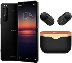 Sony Xperia 1 Mark II Launch Bundle with WF1000X33/B True Wireless Headphones (2 Items)