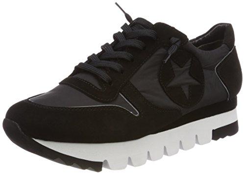Kennel und Schmenger Kennel und Schmenger Damen Lion Sneaker, Schwarz (Schwarz Sohle Weiß-Schwarz), 41 EU (7.5 UK)