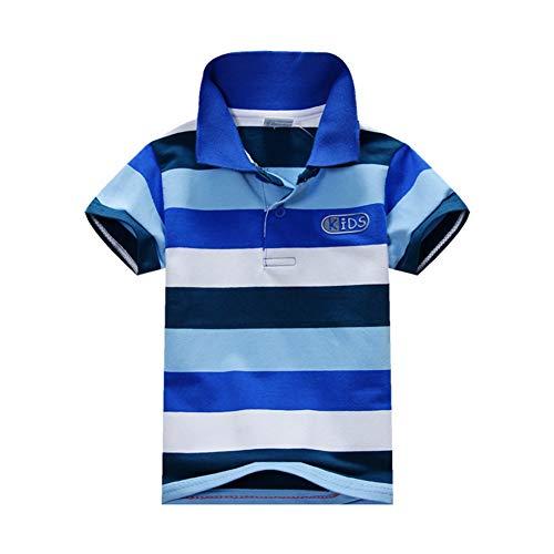 BOBORA Polo T-Shirt Bébé Garçon, Garçons Enfants Chemise Été en Coton Polo 1-7 Ans ( 2-3 ans - Multicolor)